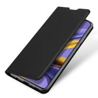 Страничен калъф тип тефтер DUX DUCIS за Nokia 2.4, черен