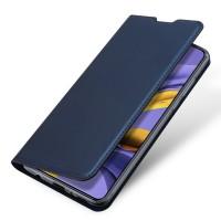 Страничен калъф тип тефтер DUX DUCIS за Nokia 3.4, син
