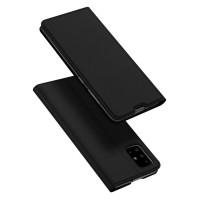 Страничен калъф тип тефтер DUX DUCIS за Samsung Galaxy A71, черен