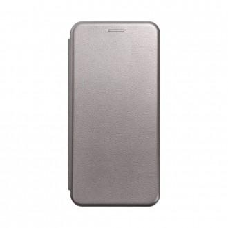 Страничен калъф тип тефтер Elegance Book за Samsung A12, Сив