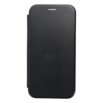 Страничен калъф тип тефтер Elegance Book за Samsung A20s, Черен