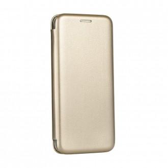 Страничен калъф тип тефтер Elegance Book за Samsung A51 златен