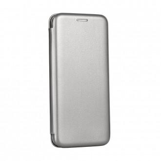 Страничен калъф тип тефтер Elegance Book за Samsung A70 сив