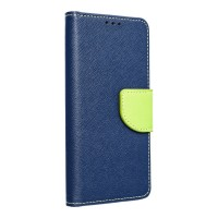 Страничен калъф тип тефтер Fancy Book за Huawei Nova 5T ,син