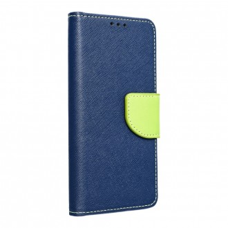 Страничен калъф тип тефтер Fancy Book за Samsung A02s, Син