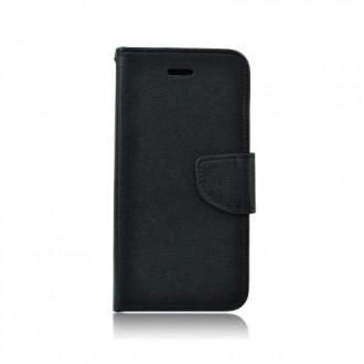 Страничен калъф тип тефтер Fancy book за Xiaomi Redmi Note 7 , черен