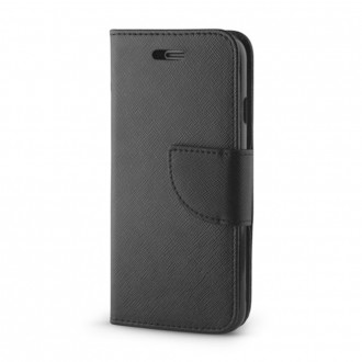 Страничен калъф тип тефтер Fancy за Samsung i9300 S3 / S3 Neo черен