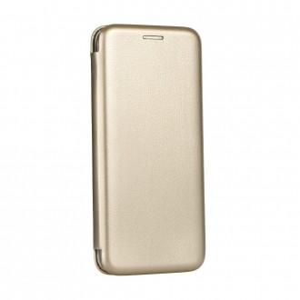 Страничен калъф тип тефтер Forcell Elegance за Huawei P Smart Z златен