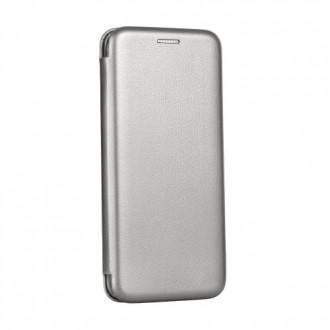 Страничен калъф тип тефтер Forcell Elegance за iPhone X/XS сив