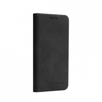 Страничен калъф тип тефтер Forcell SILK за Samsung Galaxy A10, черен
