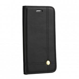 Страничен калъф тип тефтер за Huawei P8 lite Prestige Book черен