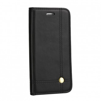 Страничен калъф тип тефтер Prestige Book за Samsung A10 черен