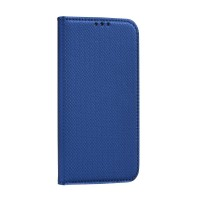 Страничен калъф тип тефтер Smart Book за Huawei P30 Lite ,син