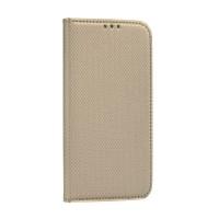 Страничен калъф тип тефтер Smart Book за Huawei P30 Lite ,златен