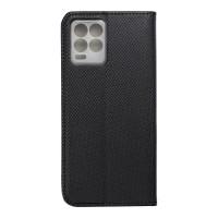 Страничен калъф тип тефтер Smart Book за Realme 8 / Realme 8 Pro, черен