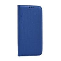 Страничен калъф тип тефтер Smart Book за Samsung A21s, син