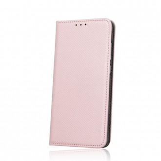 Страничен калъф тип тефтер Smart Book за Samsung A40 ,розов