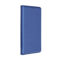 Страничен калъф тип тефтер Smart Book за Samsung M51, Син