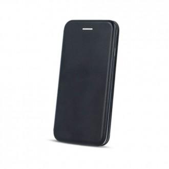 Страничен калъф тип тефтер Smart Diva за Huawei Y6 2019 , черен