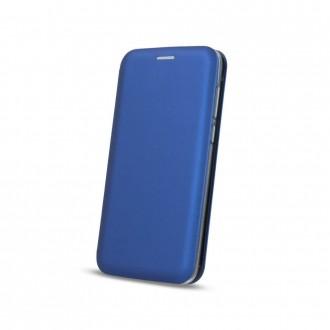 Страничен калъф тип тефтер Smart Diva за Iphone XS Max , син