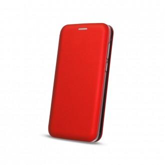 Страничен калъф тип тефтер Smart Diva за Samsung J4 Plus червен