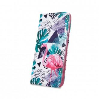 Страничен калъф тип тефтер Smart Trendy за Samsung A40 ,фламинго
