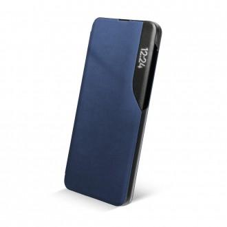 Страничен калъф тип тефтер Smart View за Samsung A12, Син