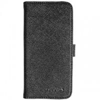 Страничен калъф тип тефтер за HTC One M8 Mini 2 Nevox черен