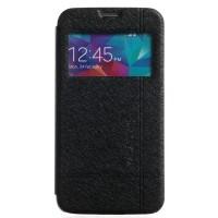 Страничен калъф тип тефтер за Huawei G6 KLD черен