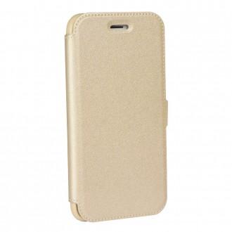 Страничен калъф тип тефтер за Huawei P10 Book Pocket златен
