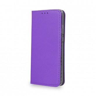 Страничен калъф тип тефтер за Huawei Y6 2018 Smart Book лилав