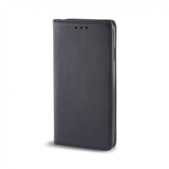 Страничен калъф тип тефтер за Iphone 6/6s Smart Magnet Book черен