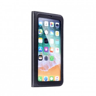 Страничен калъф тип тефтер за iPhone 7 / iPhone 8 View Book черен