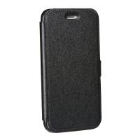 Страничен калъф тип тефтер за iPhone XS Max Book Pocket черен