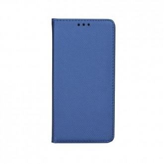 Страничен калъф тип тефтер за Motorola C Plus Smart Book син