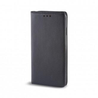 Страничен калъф тип тефтер за Motorola E5 Smart Book черен
