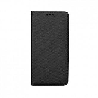 Страничен калъф тип тефтер за Motorola Moto G6 Smart book черен