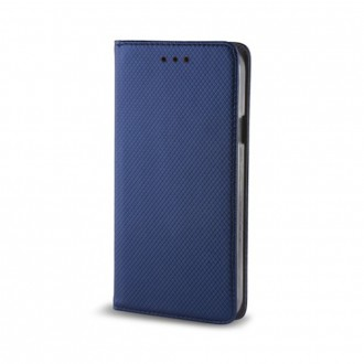 Страничен калъф тип тефтер за Nokia 3.1 Smart Book син