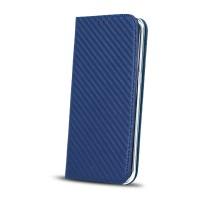 Страничен калъф тип тефтер за Samsung A530 A8 (2018) карбон син