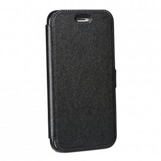 Страничен калъф тип тефтер за Samsung G930 S7 черен