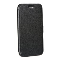 Страничен калъф тип тефтер за Samsung G950 S8 Book Pocket черен