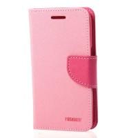 Страничен калъф тип тефтер за Samsung Galaxy Note 7 Fancy Book розов
