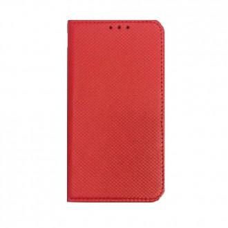 Страничен калъф тип тефтер за Samsung J5 (2017) червен