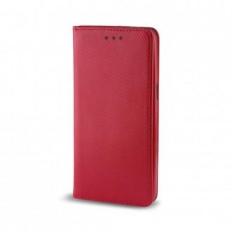 Страничен калъф тип тефтер за Xiaomi Redmi 4A Smart Book червен