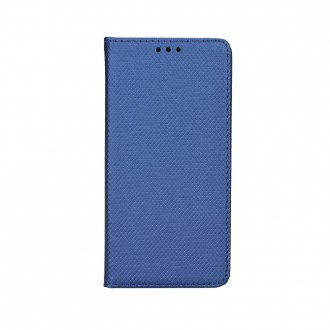 Страничен калъф тип тефтер за Xiaomi Redmi 6 Smart book син