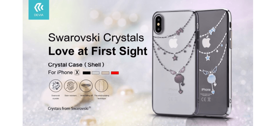 Apple iPhone X Swarowski Crystals
