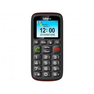Телефон за възрастни Maxcom MM428 Dual ,черен