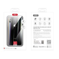 Твърд гръб кейс за iPhone XR XO Desing Shiny glass Series прозрачен