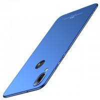 Ултра тънък твърд гръб MSVII за Huawei P20 Lite син