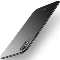 Ултра тънък твърд гръб MSVII за Iphone XR, черен